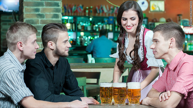 The demand for barmaids in parties are growing